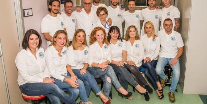 Il Pescara si mette in posa, per il calendario del Gal 2020