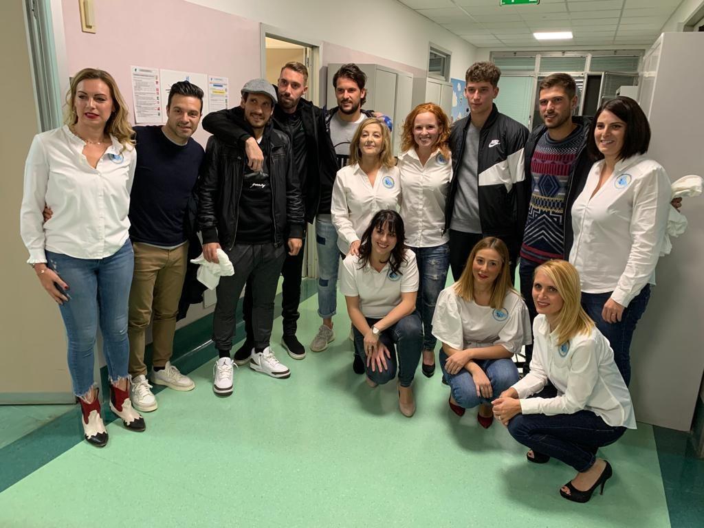 Gal e reparto di Diagnosi e Terapia dei Linfomi - Ospedale Spirito Santo di Pescara